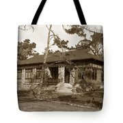 Grace H Dodge Chapel Auditorium Asilomar Circa 1925 Tote Bag
