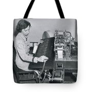 Grace Hopper, American Computer Scientist Tote Bag
