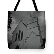 Grace In Black And White Tote Bag