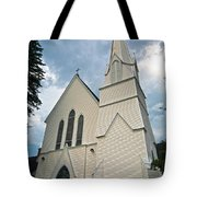 Grace In The White Mountains Tote Bag