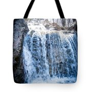 Grace Is A Waterfall Tote Bag