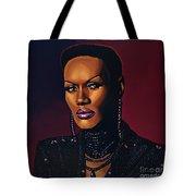 Grace Jones Tote Bag