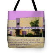 Grace Lutheran School Tote Bag