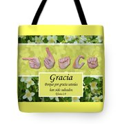 Grace Spanish Tote Bag