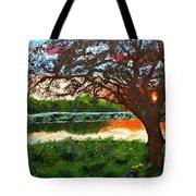 Grace Sunrise Tote Bag