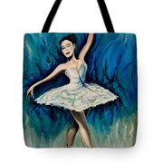 Graceful Dance Tote Bag