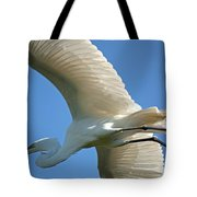 Graceful Flight Tote Bag