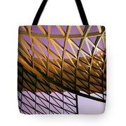 Graceful Grid Tote Bag