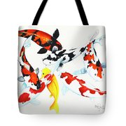 Graceful Koi Tote Bag
