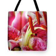 Graceful Lily Series 20 Tote Bag