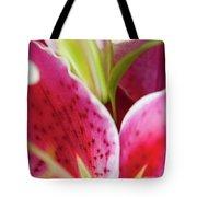 Graceful Lily Series 27 Tote Bag