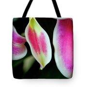 Graceful Lily Series 30 Tote Bag