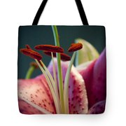 Graceful Lily Series 7 Tote Bag