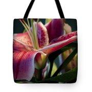 Graceful Lily Series 8 Tote Bag