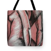 Graceful Pink - Nudes Gallery Tote Bag by Carmen Tyrrell