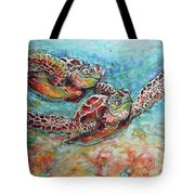 Sea Turtle Buddies Tote Bag