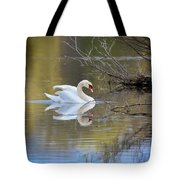 Graceful Swan Tote Bag