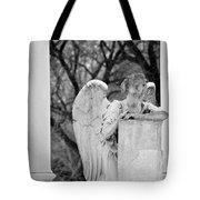 Graceland Cemetery Angel Tote Bag