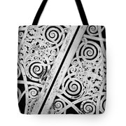 Graceland Cemetery Gate Tote Bag