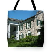 Graceland Home Of Elvis Presley, Memphis, Tennesseen Tote Bag