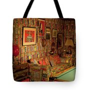Graceland The Home Of Elvis Presley, Memphis, Tennessee Tote Bag