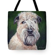 Gracie, Soft Coated Wheaten Terrier Tote Bag