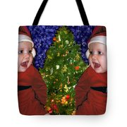 Gracies Christmas Tree Tote Bag