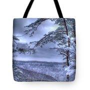 Gracious Winter Tote Bag