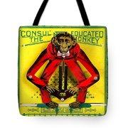 Graduation Monkey Tote Bag