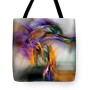 Graffiti - Fractal Art Tote Bag
