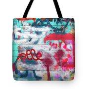 Graffiti 1 Tote Bag