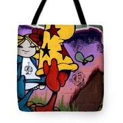Graffiti 11 Tote Bag