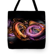 Graffiti Abstract Tote Bag