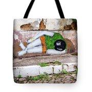 Graffiti Art Lencois Brazil Tote Bag
