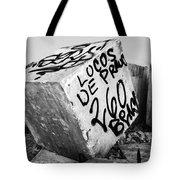 Graffiti Block Tote Bag