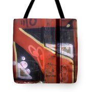 Graffiti Closeup Tote Bag
