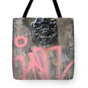 Graffiti Door Knocker Tote Bag