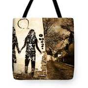 Graffiti Love Tote Bag