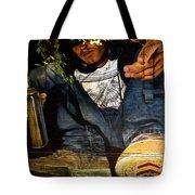 Graffiti Man Tote Bag