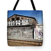 Graffiti Wall Tote Bag