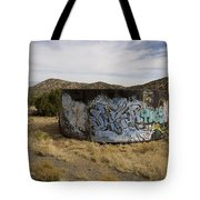 Grafitti In The Middle Of Nature Tote Bag