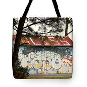 Grafitti One Tote Bag