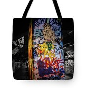 Grafitti Tunnel Tote Bag