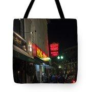 Grafton Street Pub And The Hong Kong In Harvard Square Cambridge Ma Tote Bag