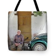 Graham And His Beetle  Tote Bag
