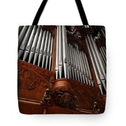 Graham Chapel Pipes Tote Bag