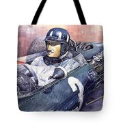 Graham Hill Brm P261 1965 Tote Bag