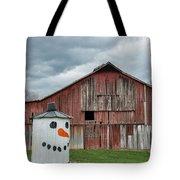Grain Bin With Smile Tote Bag