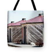 Grain Bins Color Tote Bag