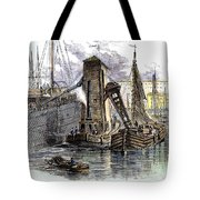 Grain Elevator, 1877 Tote Bag